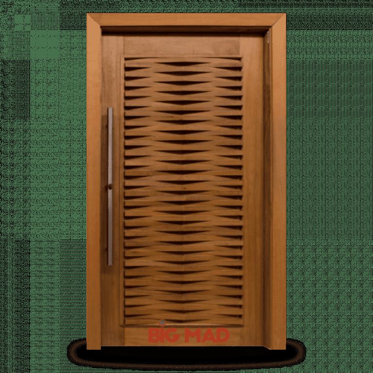 Porta Pivotante de Madeira Macica MD120