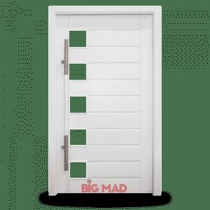 Porta Pivotante de Madeira MAcica 5 vidros