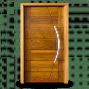 Porta Pivotante de Madeira Macica BBB-R