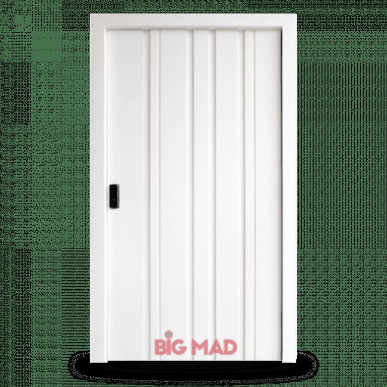 Porta Pivotante de Madeira Macica Zeus