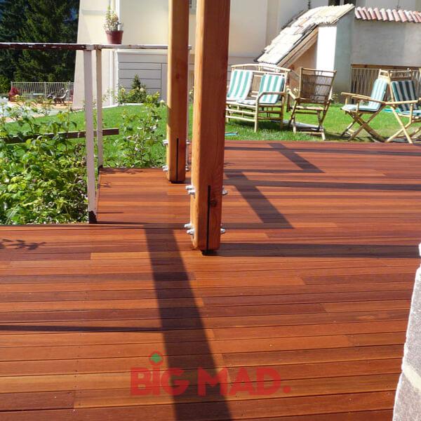 deck de madeira macica cumaru