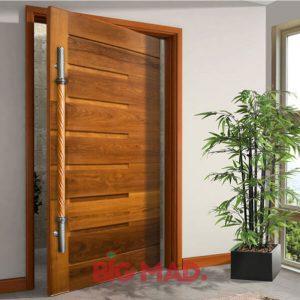 Puxador para portas em inox 42