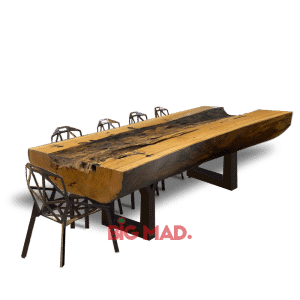 Mesa de Jantar Tora de Madeira