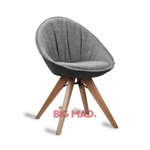 Cadeira Estela Com Estofado