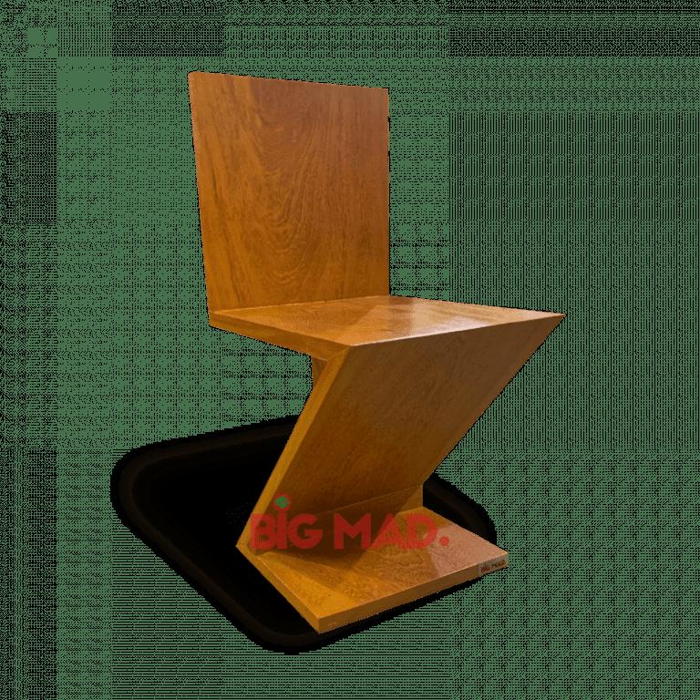 Cadeira em Madeira Macica zig